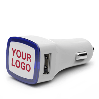 Duo - promotional usb car charger