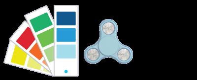 Pantone® References Fidget Spinner