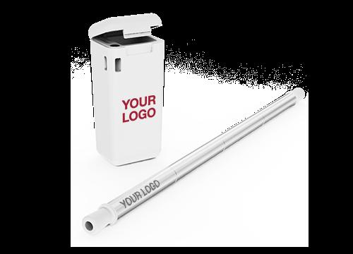 Fold - Engraved Metal Straws