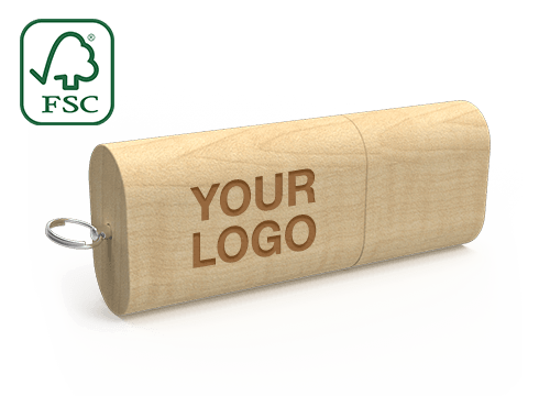 Nature - Wooden USB Memory Stick