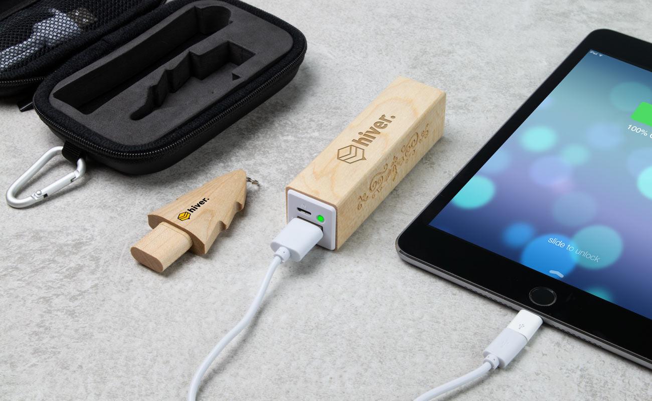 Noel S - Custom USB and power bank branded