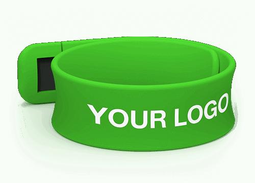 Slap - Custom USB Wristband