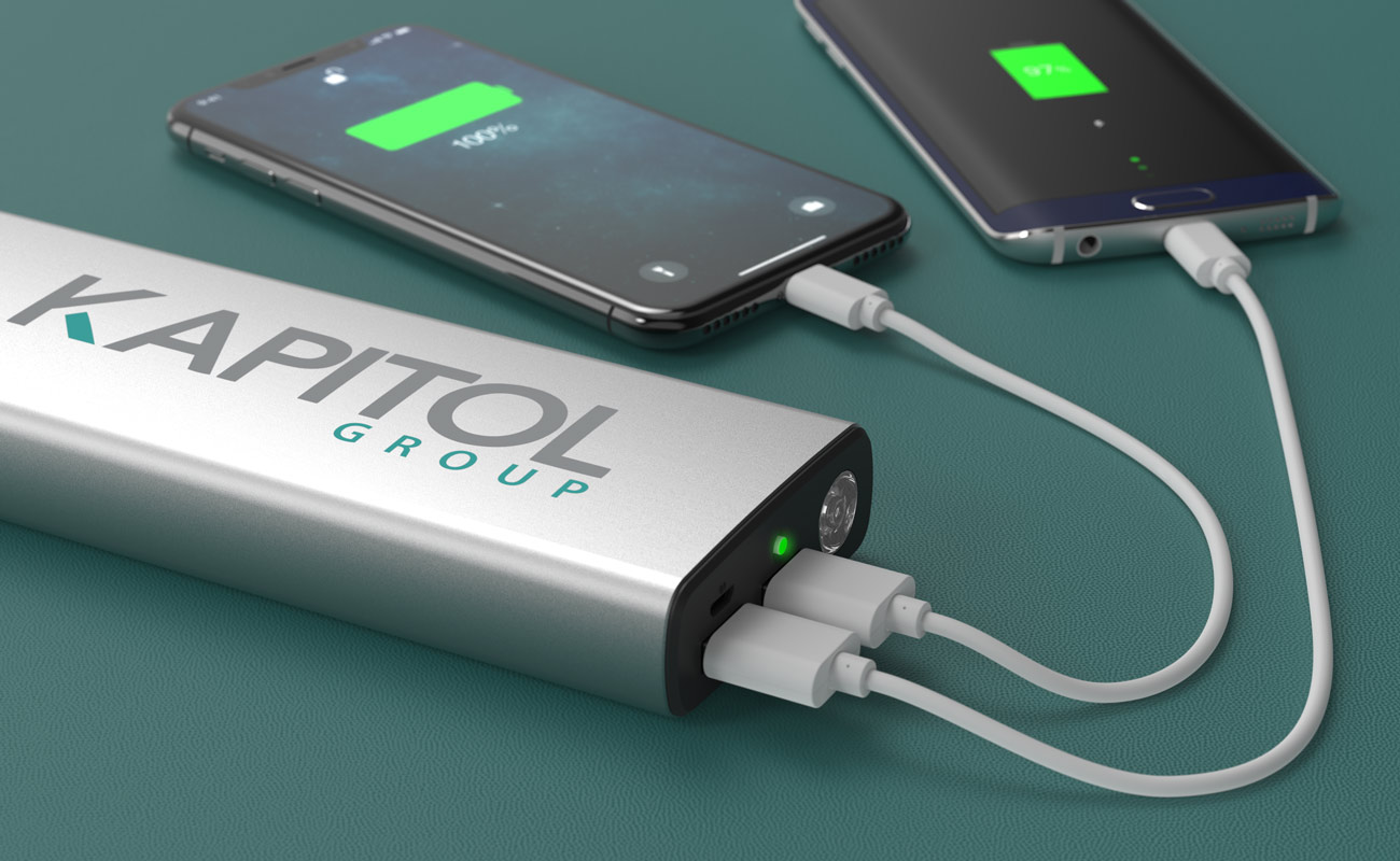 Titan - power bank branded